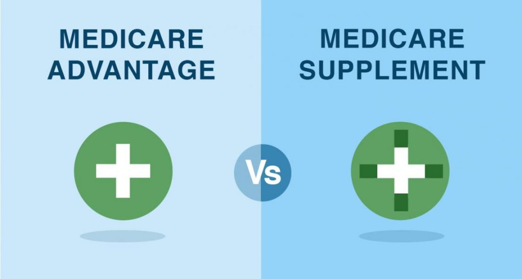 medicare supplements vs medicare advantage